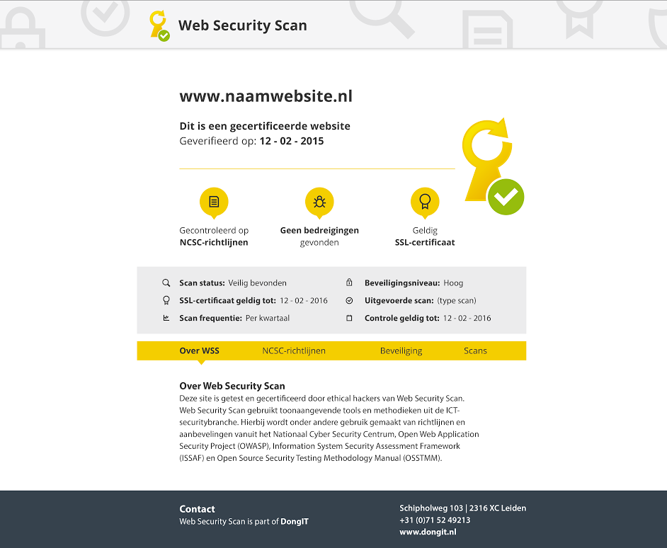 Trustmark Logo Web Security Scan | Web Security Scan